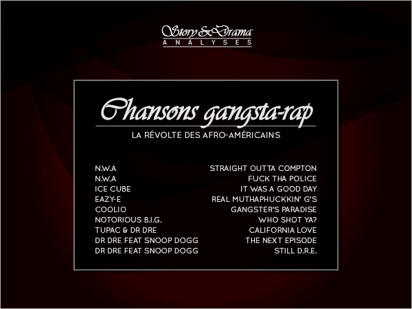 Le Gangsta-rap Se Tape